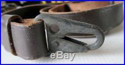 10 X HECKLER & KOCH H&K ORIGINAL LEATHER RIFLE SLINGS sling 91 G3 MP5 93 33