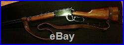 1 1/2 Leather Rifle Sling For A Tommy Gun NO DRILL SLING