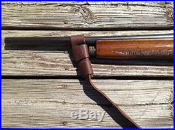 1 1/2 Leather Rossi 92 Gun Sling NO DRILL SLING Black Friday Special