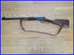 1 1/2 Wide NO DRILL Rifle Sling For Winchester Rifles. Brown Leather