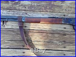 1 Leather Rossi 92 Gun Sling NO DRILL SLING for The Rossi 92 Rifle Only