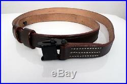 5 X German Mauser Kar 98 K98 98K Kar98 G41 G43 K43 Brown Leather Rifle Sling