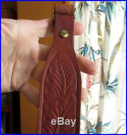 65-532 9443 Vtg Hunter Genuine Leather Rifle/shotgun Sling