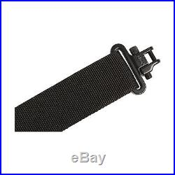 Allen Baktrak Ridgeway Rifle Sling with Leather Accents and Swivels