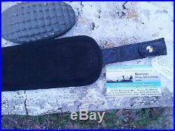 American Wild Alligator Rifle shotgun Shoulder Sling Strap gator leather DE21
