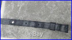 American Wild Alligator Rifle shotgun Shoulder Sling Strap gator leather FB3