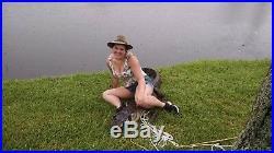 American Wild Alligator Rifle shotgun Shoulder Sling Strap gator leather FB4