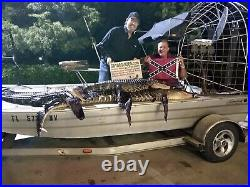 American Wild Alligator Rifle shotgun Shoulder Sling Strap gator leather JA5