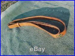 BIANCHI 78 Leather Rifle Sling / Strap