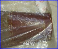 BRUNTON! GRAND SLAM RIFLE CASE! 46 INCH! WAXED CANVAS WithITALIAN LEATHER! VHTF