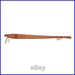 Bandolier Ammo Belt Cartridges Holder Shotgun& Rifle Sling Leather Strap Hunting