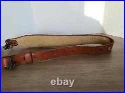 Bianchi Cobra Padded 31 Hand Tooled Leather Rifle Sling