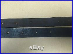 CIVIL War Musket / Rifle Sling Leather Very Good Condition 59 1/2