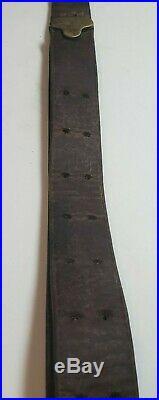 Chicago Belting Co. US WW1 Model 1907 1903 Rifle Leather Sling