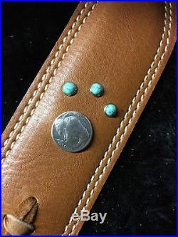 Custom Buffalo leather sling stock wrap Made in the USA Marlin 1895 45-70