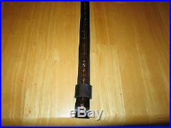 Custom Made Genuine Leather Rifle Sling With Your Name And Buffalo
