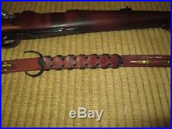 Custom, adjustable Traditional Leather Rifle Sling Built to your order