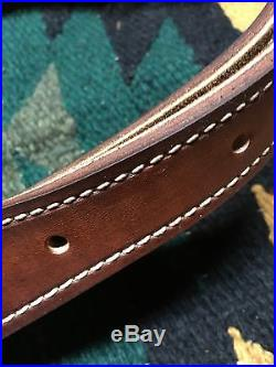 Custom leather sling and wrap combo for Marlin 1894