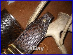 Custom leather stock wrap And Sling Combo Made in the USA Marlin 1895 45-70