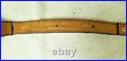 D New Vintage TOREL Rifle Sling Tooled Acorn Scene #4889 Top Cowhide Leather