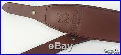 Dingo Gun Products Rifle Sling PADDED COBRA Suede Lined
