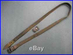 Excellent proofed 98k WWII German Mauser rifle leather sling for K 98 K98 G43