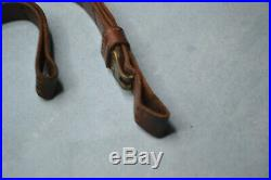 GEORGE LAWRENCE #5 Tan Leather Rifle Sling really nice vintage