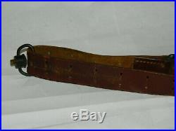 Garand Rifle Sling Hoyt 1918 M1 Ww1 Us Leather M1907 Springfield Military J. C. Y