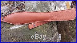Genuine Buffalo Leather Rifle Slings Choice of 4 Colors