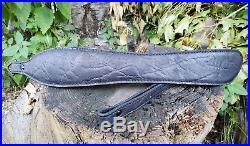 Genuine Elephant Hide Rifle Sling color Black