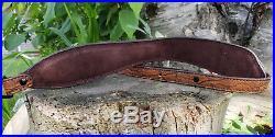 Genuine Elephant Hide Rifle Sling color Tan