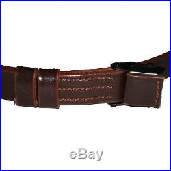German Mauser K98 WWII Rifle Leather Sling x 10 UNITS TY56718