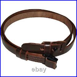 German Mauser K98 WWII Rifle Leather Sling x 10 UNITS d617