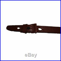 German Mauser K98 WWII Rifle Mid Brown Leather Sling x 10 UNITS fh268