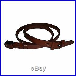 German Mauser K98 WWII Rifle Mid Brown Leather Sling x 10 UNITS g146