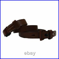 German Mauser K98 WWII Rifle Mid Brown Leather Sling x 10 UNITS k052