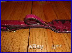 Handcrafted Leather products Tooled Leather Personalized Rifle/Shotgun Sling