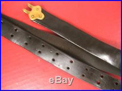 Indian War US Army Model 1873 Springfield Trapdoor Leather Rifle Sling 4th Pat
