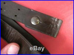 Indian War US Army Model 1873 Springfield Trapdoor Leather Rifle Sling 5th Pat 2