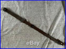 Japanese Arisaka Leather Rifle Sling