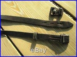 Late War Era German WW2 K98 Mauser Leather Rifle Sling MINTY G41 G43 K43 98k k98