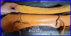 Leather Rifle Scabbard Lever Action Carbine Horseback saddle sling