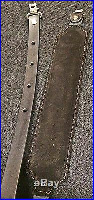 Leather Rifle Sling Handmade in USA