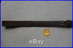 Leather Sling From Springfield Trapdoor Brass Fittings Good Shape Original
