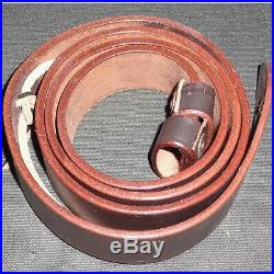 Leather Sling for British WWI & WWII Lee Enfield SMLE Rifle 5 Units v962
