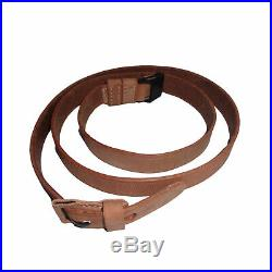 Leather Sling for WWII German Mauser K98 98K Rifle Natural Repro x 10 UNITS R722