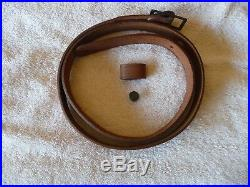 Marlin Leather Sling withHorse & Rider & Original Factory Instructions