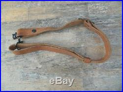 Marlin script leather sling & swivels horse rider 336