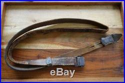 Mauser K98 98K Original Leather Sling Dated 1944 WWII