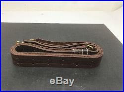 NOS Swiss Craft 1 1/4 Gun Sling Firearm Rifle Shotgun Leather Tooling Made USA